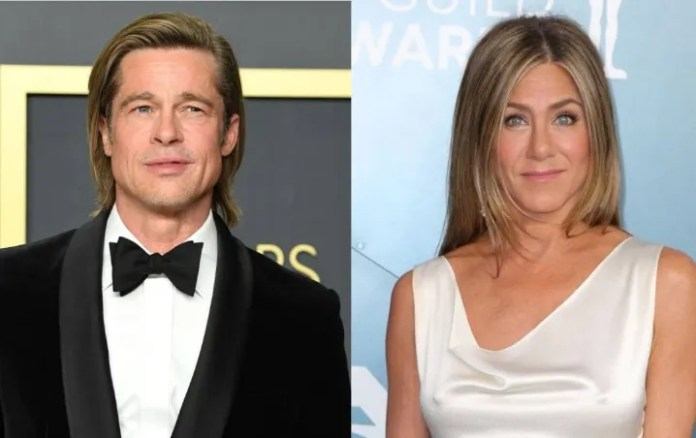 It's the business! Ensure that Jennifer Aniston and Brad Pitt are together in quarantine