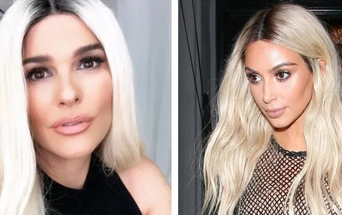 Compare the new look of Martha Debayle with Kim Kardashian what are they like?
