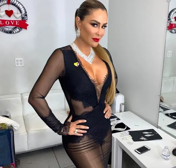 Ninel Conde sets fire to Instagram with a sexy picture on the scenario it Hot!