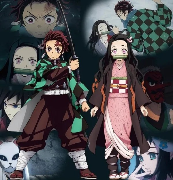 You'll be surprised by the touching story of Nezuko and Tangiro.