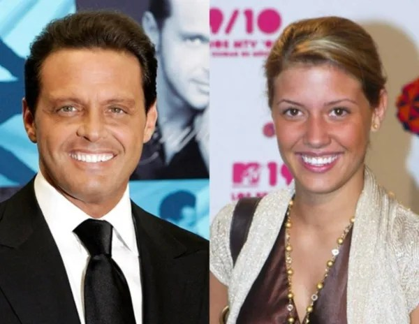 Luis Miguel and Michelle Chambers/Photo: Who