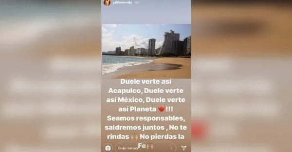 I DISOBEDIENT! Galilea Montijo traveled to the beaches of Acapulco