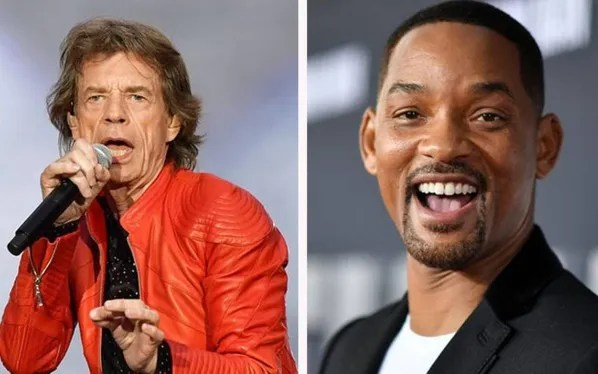 Will Smith and Mick Jagger