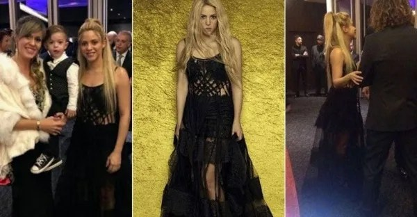 Shakira gives to talk about in wedding of Messi.