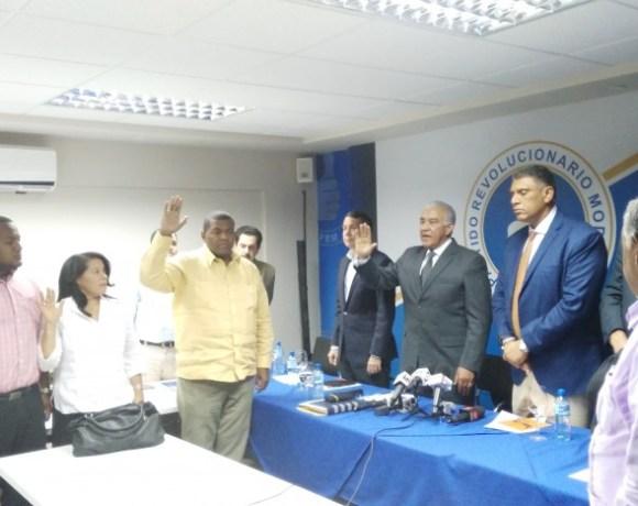 Fausto Noble se juramento en PRM