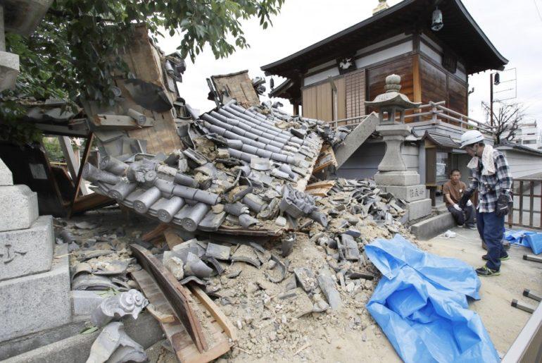 JAPON: Otro terremoto de 6.1 grados deja muertos y cientos de heridos