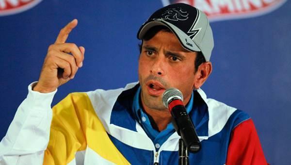 Capriles pide una comisión internacional de la verdad por muerte de concejal