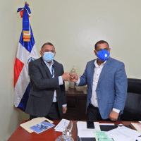 BARAHONA: Edesur y Alcaldía acuerdan trabajar juntos en beneficio comunidad