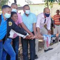 LA GUAZARA: Síndico embellecerá entrada; construirá Stand