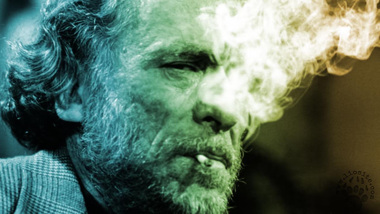 """Charles Bukowski: """"La schiavitù non è mai stata abolita, è stata solo estesa per includere tutti i colori della pelle""""."""