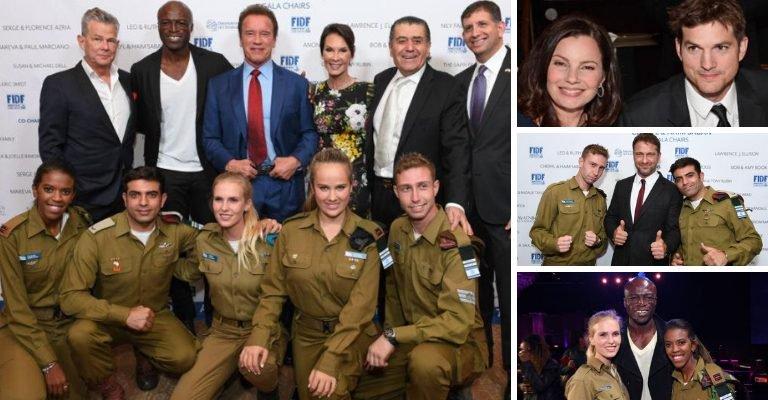 Le celebrità di Hollywood hanno raccolto $ 60 milioni per l'esercito israeliano (ai Palestinesi chi ci pensa?)