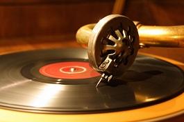 レコード盤癒し
