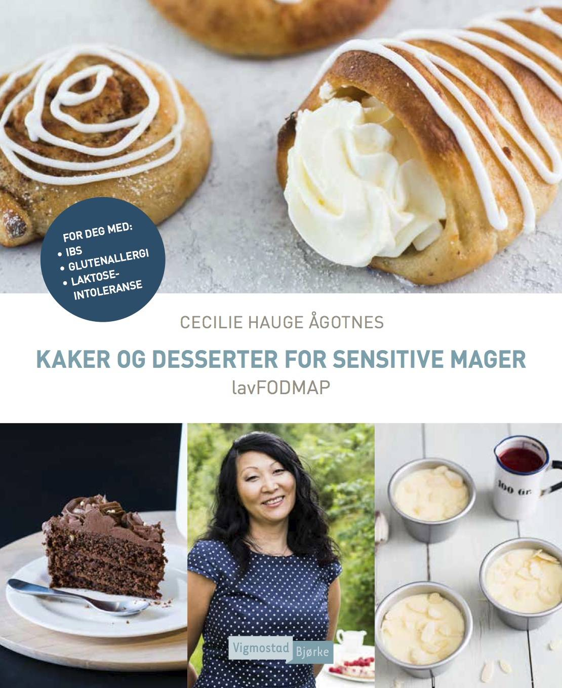 Kaker og desserter for sensitive mager lavFODMAP