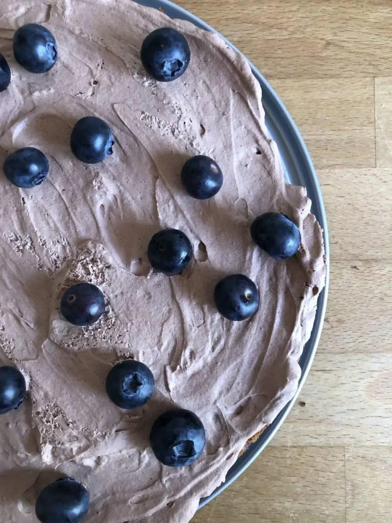 Glutenfri laktosefri sjokoladekake med banan