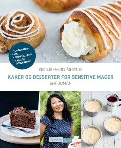 lavFODMAP-boken kaker og desserter for sensitive mager