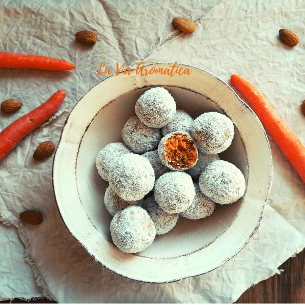Dolcetti carote e mandorle 1