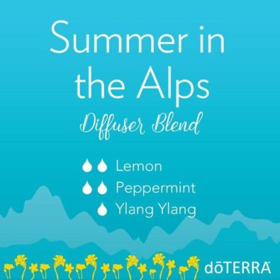 Summer in the Alps diffuser blends