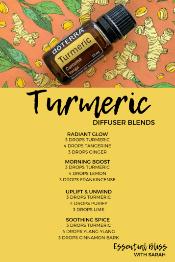 Turmeric diffuser blends
