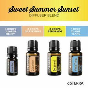 Sweet summer diffuser blend Ylang ylang