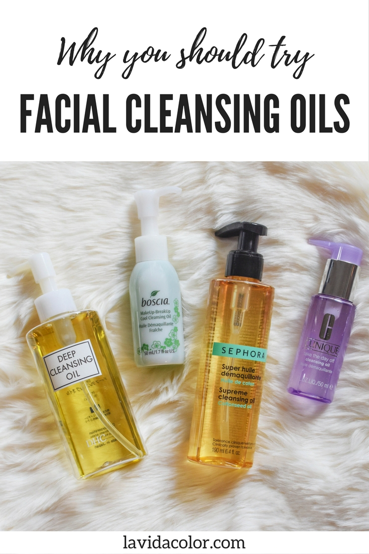 These are my favorite cleansing oils! Here's why you should be using cleansing oils, especially if you wear makeup or sunscreen!