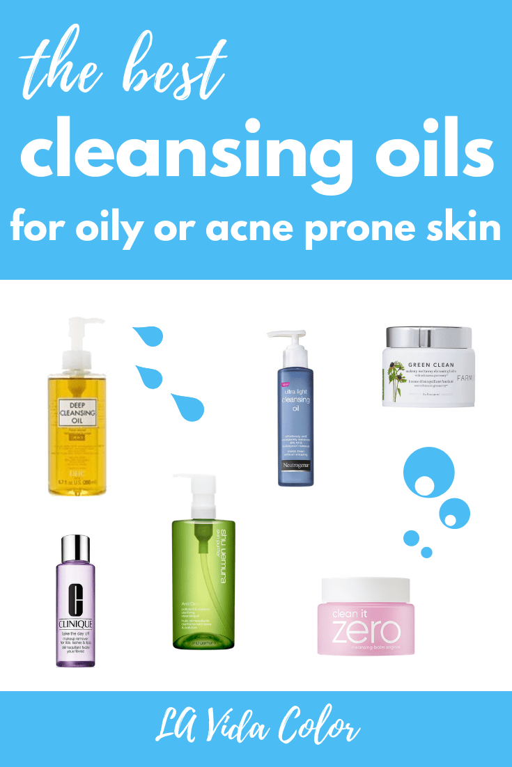 Cleansing Oils for oily skin