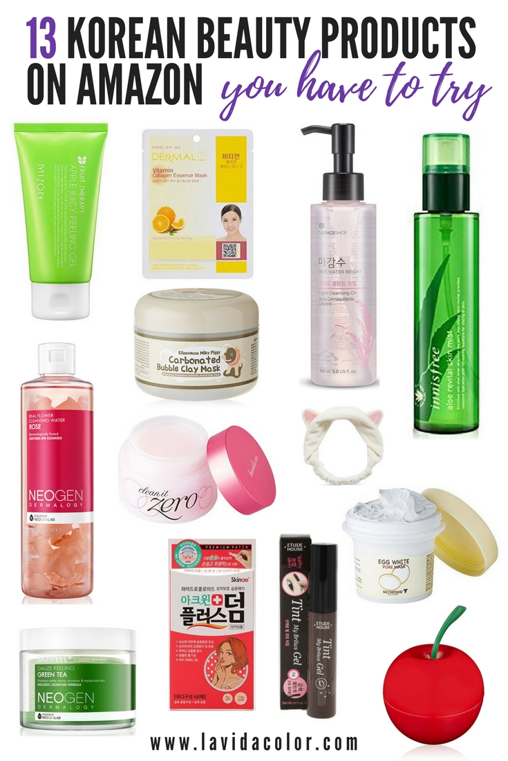 Korean Beauty Products on Amazon