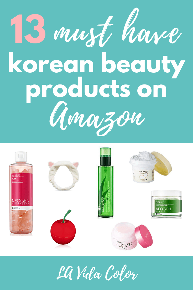 These are the best Korean beauty products on Amazon! These skincare and makeup products are popular because they are affordable and effective. Get your K-beauty on! #koreanbeauty #koreanmakeup #koreanskincare