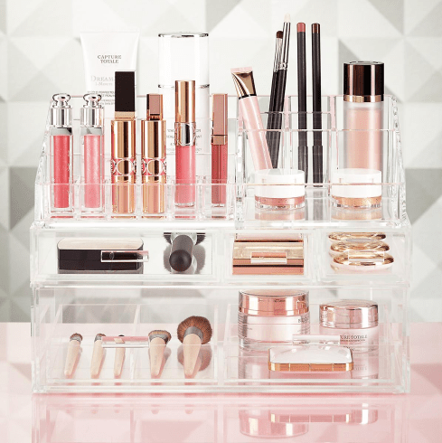 Luxe Acrylic Modular Makeup System -How to Organize Makeup and Beauty Products