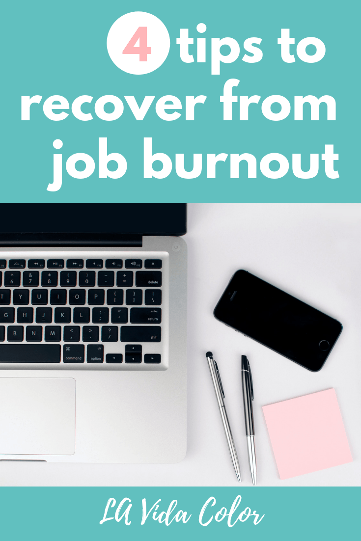 tips to overcome job burnout