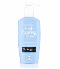 Neutrogena Fresh Foaming Cleanser has a low pH around 6