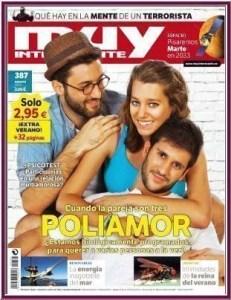 Poliamor en la portada de la revista Muy Interesante