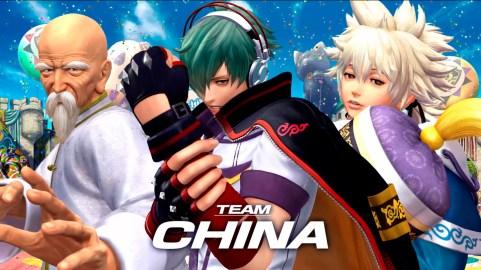 KOFXIV_TeamChina