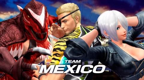KOFXIV_TeamMexico