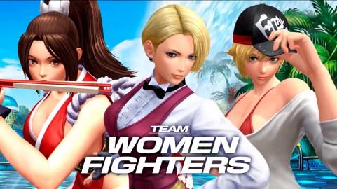 KOFXIV_TeamWomenFighters