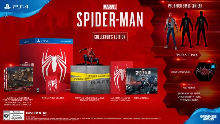 Spider-Man_PS4_CollectorsEdition_la_vida_es_un_videojuego