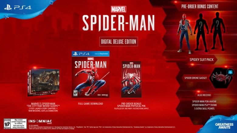 spider-manPS4_DigitalDeluxe_la_vida_es_un_videojuego