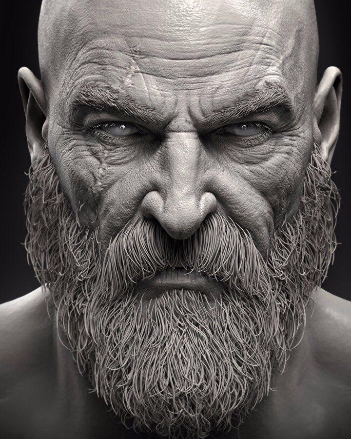 Kratos_Barber_lavidaesunvideojuego