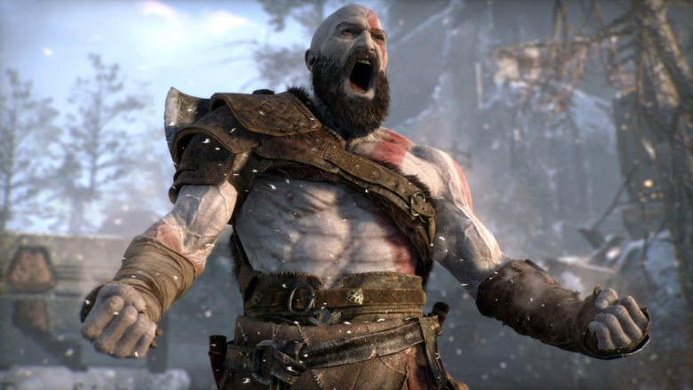 Kratos_sin_barba_god_of_war_lavidaesunvideojuego