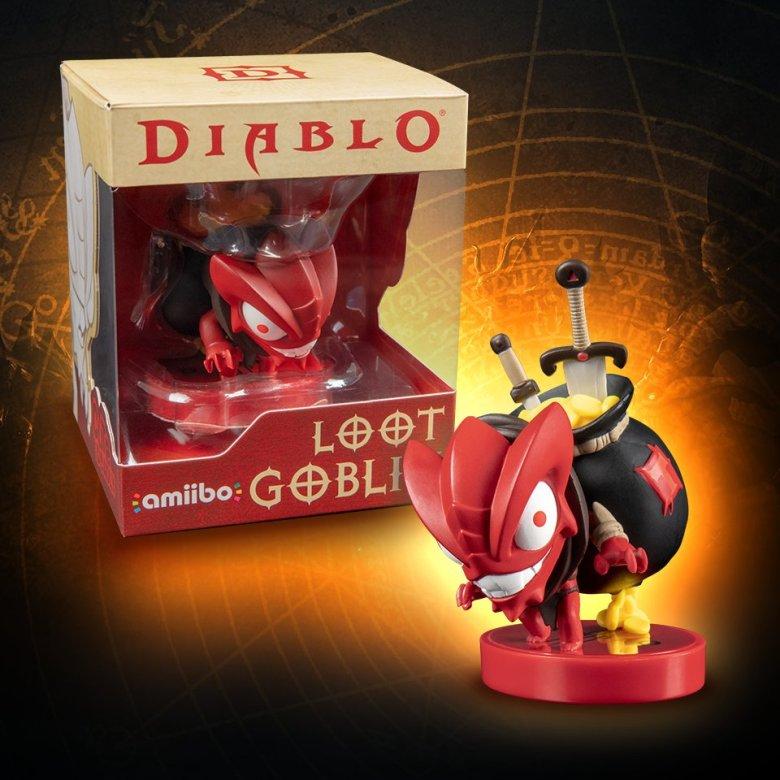 Diablo_amiibo_un Loot Goblin_anuncio_switch_lavidaesunvideojuego