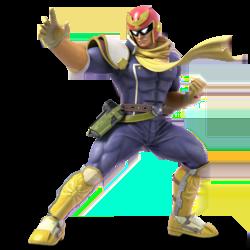 Super Smash Bros. Ultimate_personajes_fzero_falcon_lavidaesunvideojuego_1