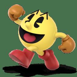 Super Smash Bros. Ultimate_personajes_pacman_lavidaesunvideojuego_1
