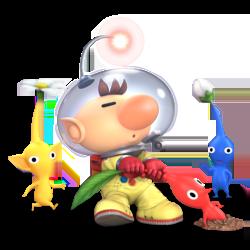 Super Smash Bros. Ultimate_personajes_pikmin_lavidaesunvideojuego_1