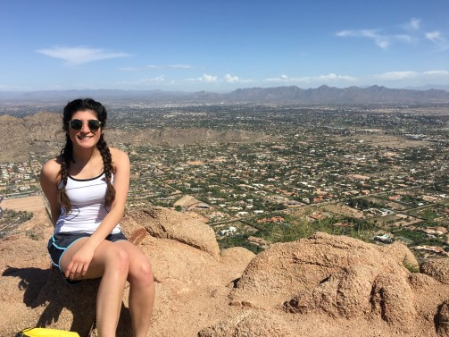 Camelback Mountain Hike (Arizona)