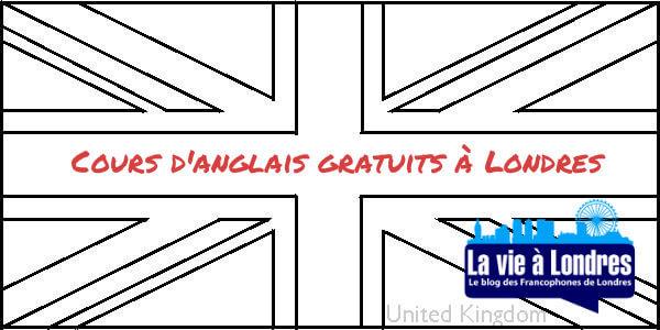 Cours d'anglais gratuits à Londres