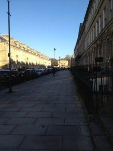 Visiter les rues de bath angleterre