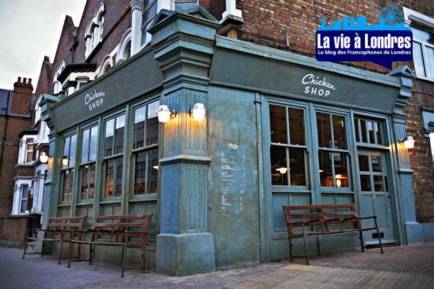Restaurant à Londres:  Chicken shop