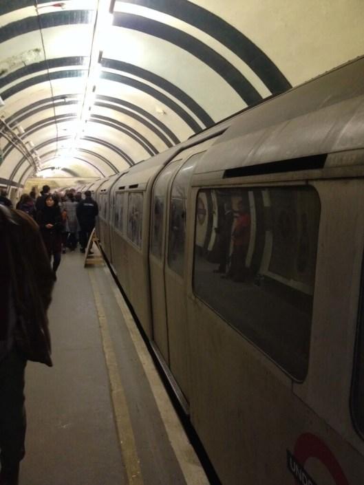 tournage metro londrès