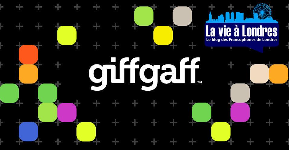 GiffGaff: mon avis et guide d'utilisation + £5 de crédit gratuit