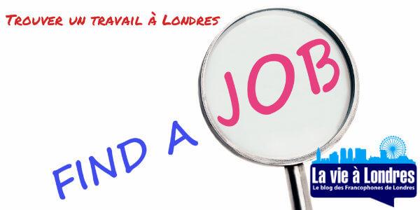 Trouver un travail à Londres