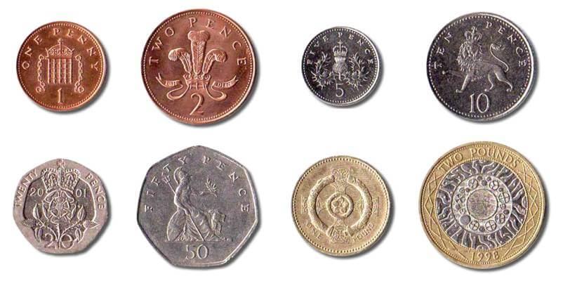 piece de monnaie Londres